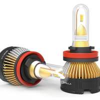 Super Awesome Boslla 4 Color Car LED Headlight Bulb