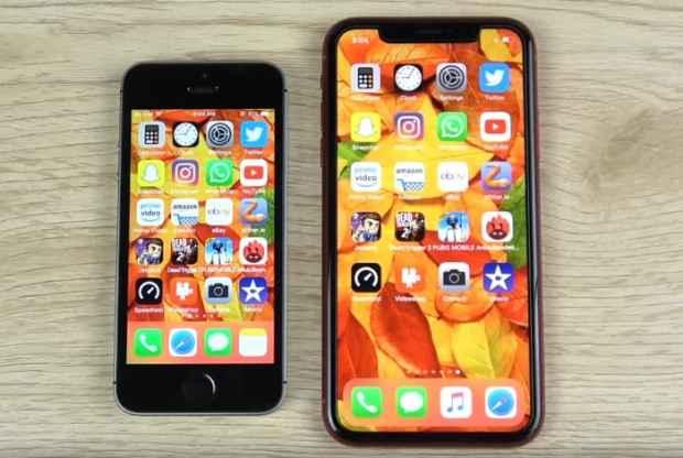 iPhone XR vs iPhone SE