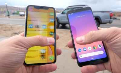 iPhone XR vs Google Pixel 3