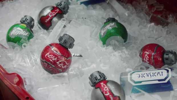 STAR WARS-Inspired Thermal Detonator-Shaped Coke Bottles