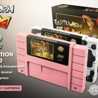 Iam8bit Is About To Release An Earthworm Jim 1 & 2 Collectors SNES Cartridge