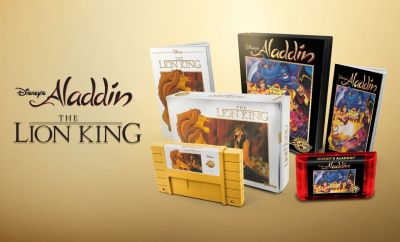 ALADDIN And THE LION KING Retro Editions