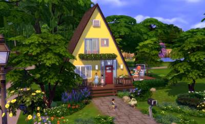 The Sims 4 tiny houses