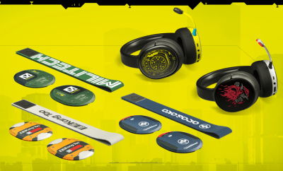 CYBERPUNK 2077 SteelSeries Headset Collection