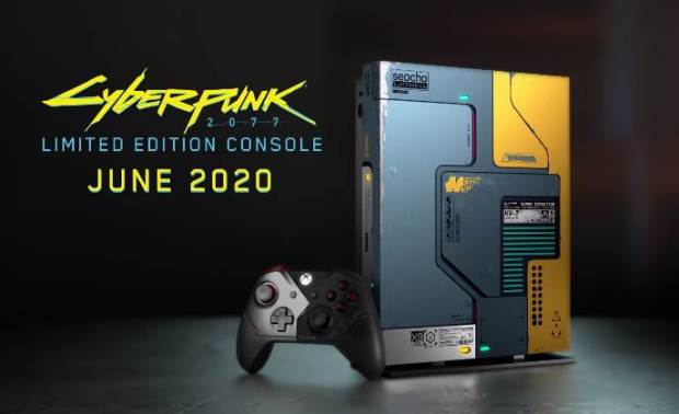 CYBERPUNK 2077 Xbox One X Limited Edition Leaked