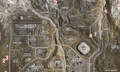 Call Of Duty Warzone Locations Of Loot-Packed Bunkers