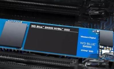 Western Digital 1TB NVMe SSD