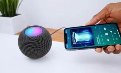 Apple's HomePod Mini