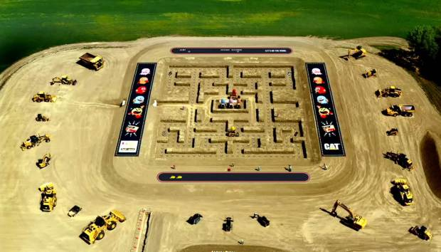 Real Life Game Of PAC-MAN