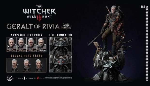 Geralt of Rivia Statue