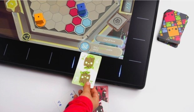 Digital Board Game Console