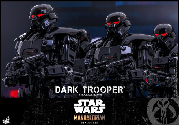 Hot Toys THE MANDALORIAN Dark Trooper Action Figure