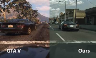 Intel Machine Learning GTA V