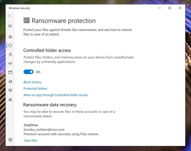 Windows 10 ransomware protection (2)