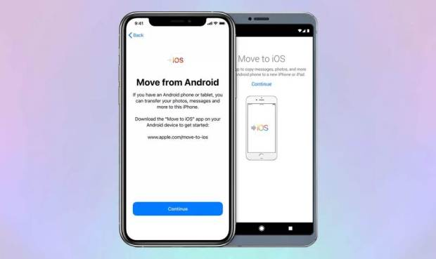 Contacts And Data From Android to iPhone