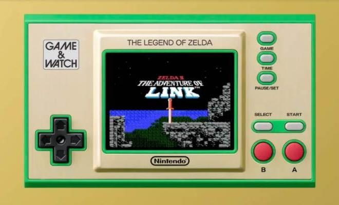 Nintendo Zelda-Themed Game & Watch