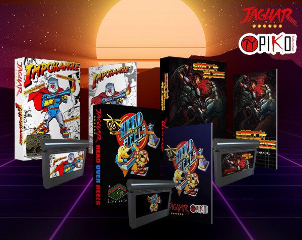 Retro Atari Jaguar Games