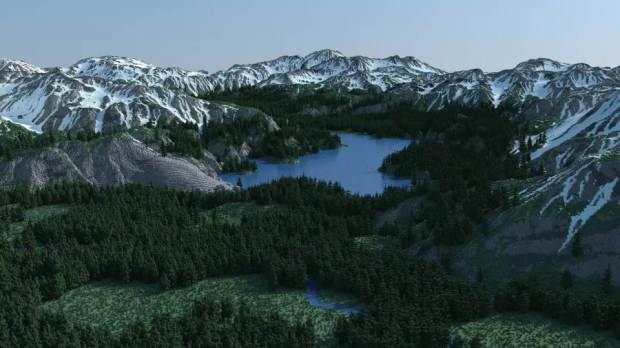 Super Realistic Minecraft Map
