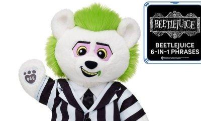 Build-A-Bear Launches BEETLEJUICE-Themed Stuffed Bear
