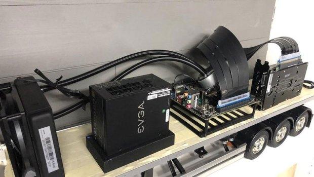 Remote Controlled Semi PC