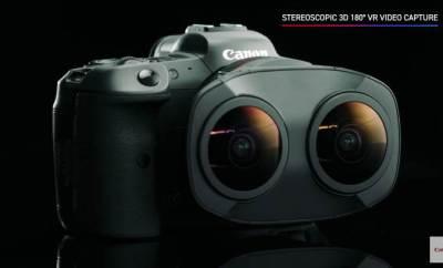 Canon Dual-Fisheye EOS R Lens