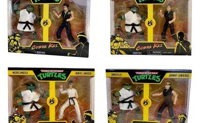 Teenage Mutant Ninja Turtles Against COBRA KAI in New Playmates Toys