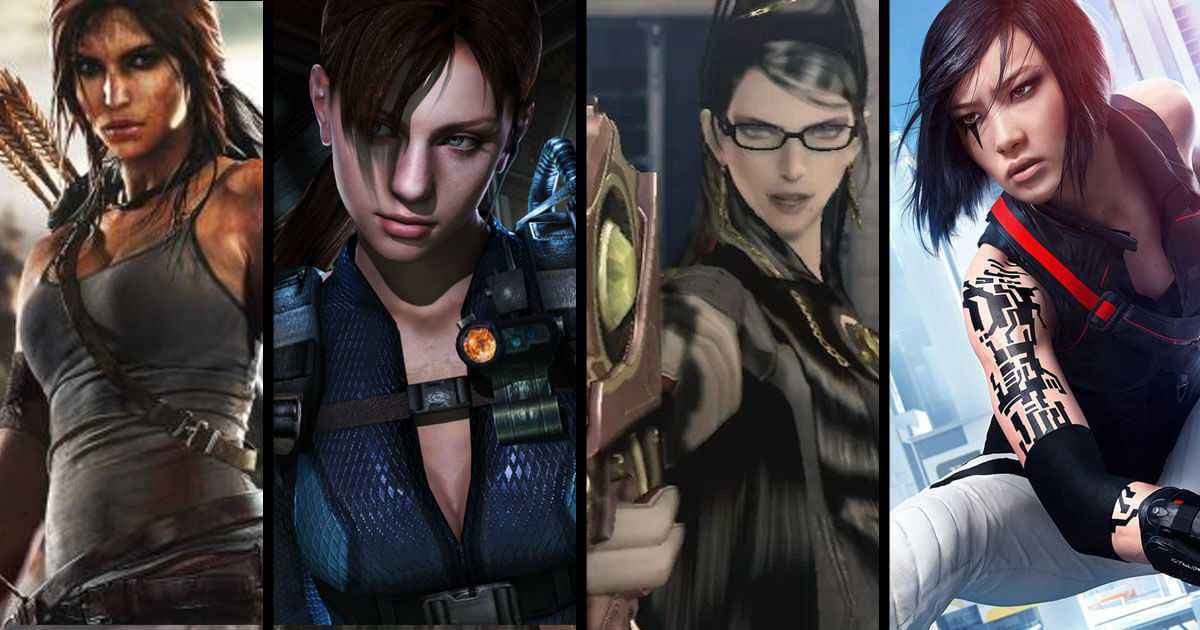 top 10 most badass female video game characters of all time