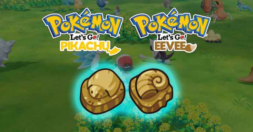 Pokemon Let's Go: Dome and Helix Fossil, Which One To Pick? - 1200 x 630 jpeg 180kB