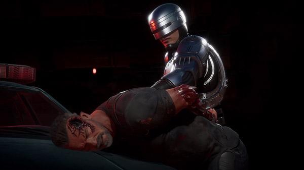 """Mortal Kombat 11: Aftermath juego de expansión """"RoboCop vs ..."""