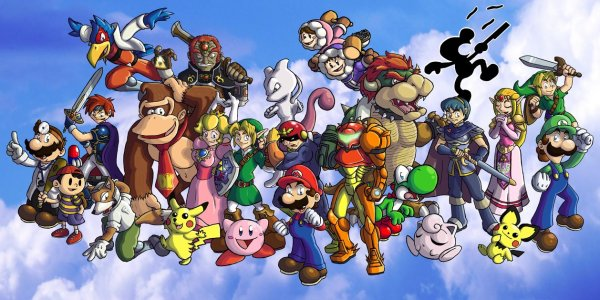 Super_Smash_Bros__Melee_by_ChetRippo