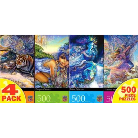 Josephine Wall 4 Pack Jigsaw Puzzle 4 X 500pc