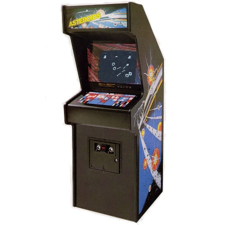 Asteroids Arcade Machine