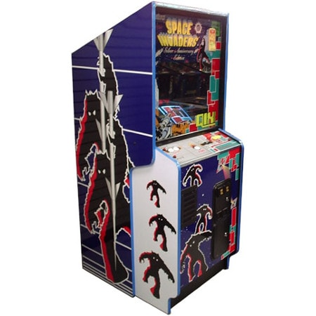 Space Invaders/Qix Silver Anniversary Arcade Game
