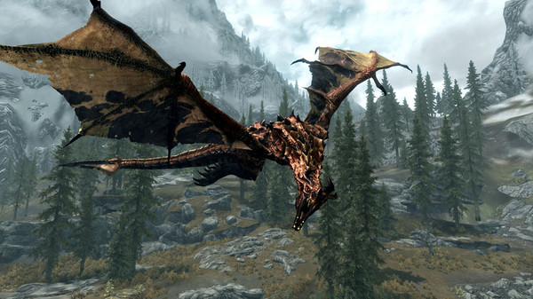 New Skyrim Mod Improves Dragon Graphics Available For