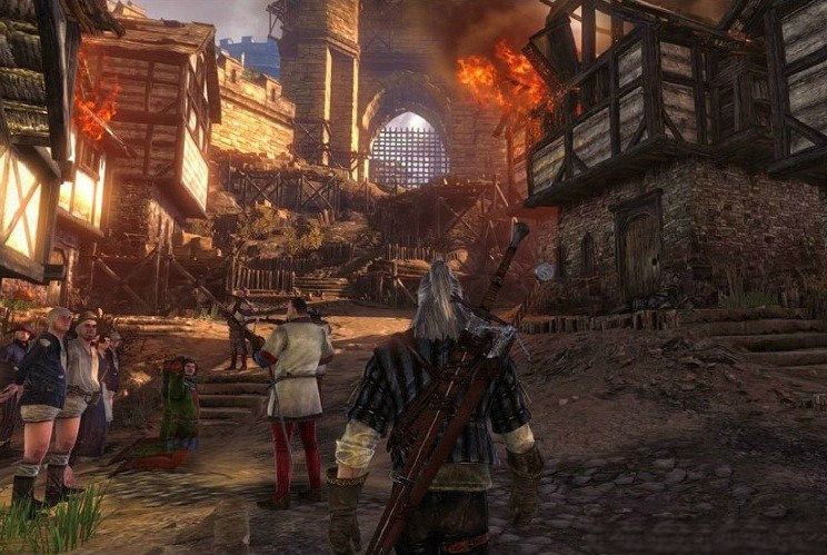 Three New Witcher 2 Enhanced Edition Xbox 360 Screenshots
