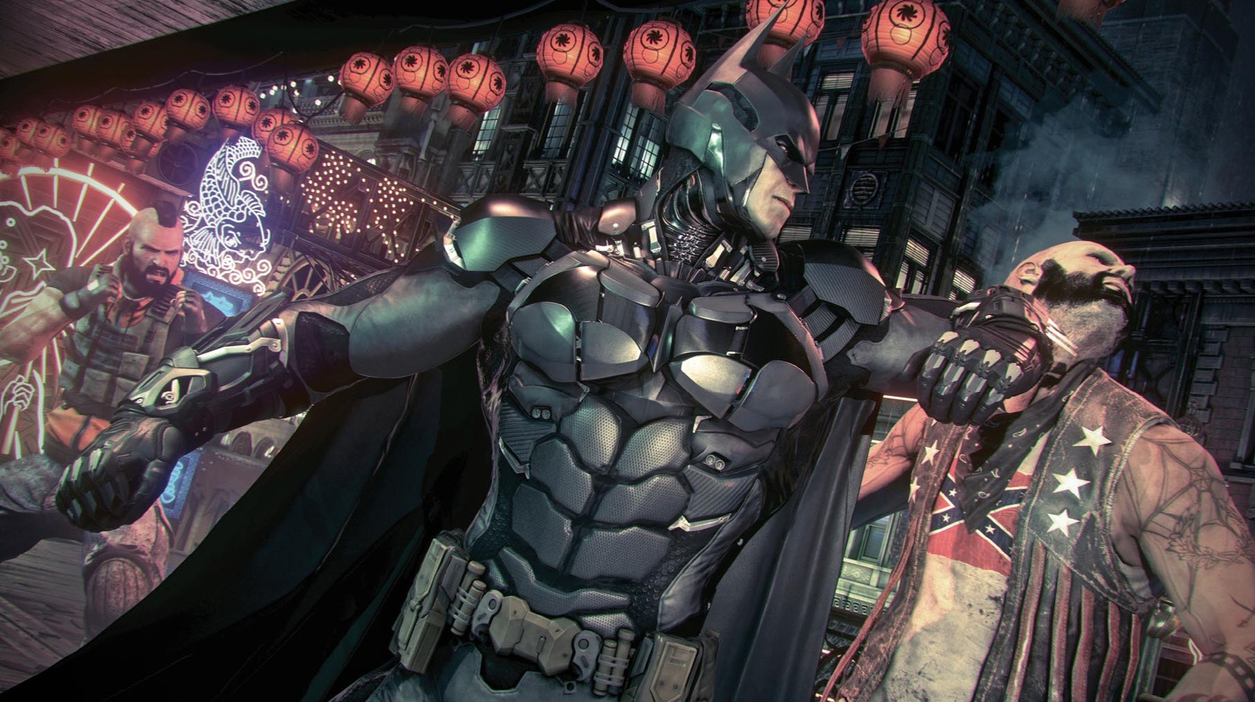 New Batman Arkham Knight Screens Out Show Gotham City