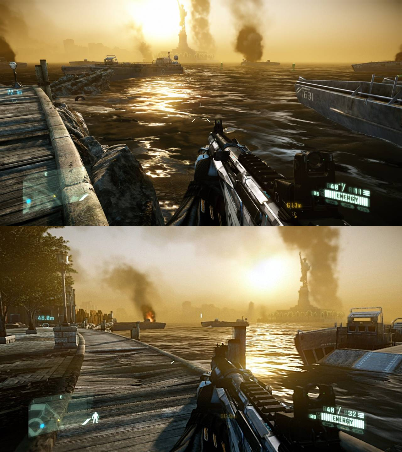 PS4 Must In 2012 Crysis 2 PC DX 11 Vs PS3 Screenshot Comparison