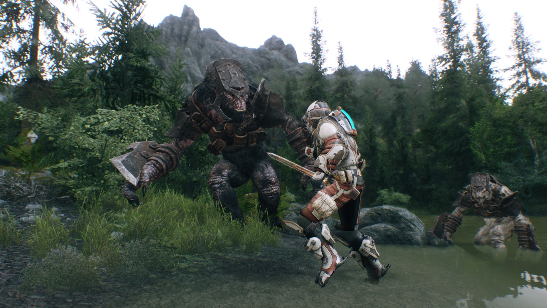 New Skyrim Mod Puts Ryse Battlefield 4 And Other Next Gen