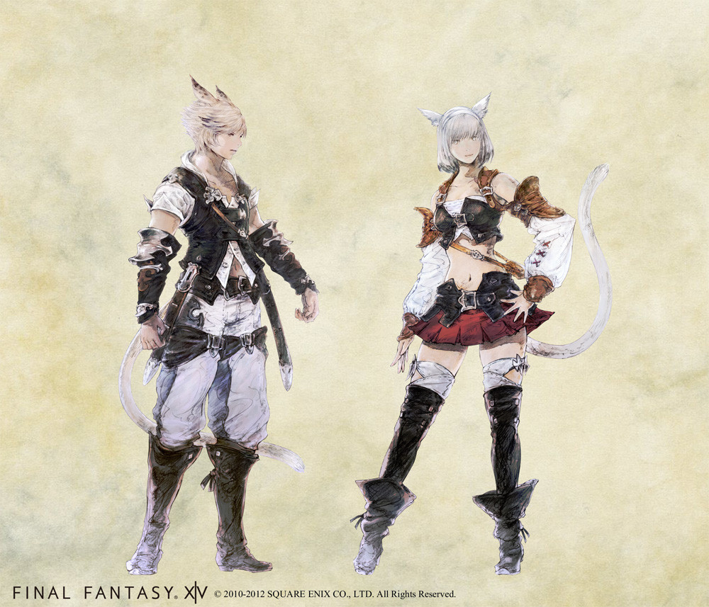 New Final Fantasy XIV 20 Concept Art Released