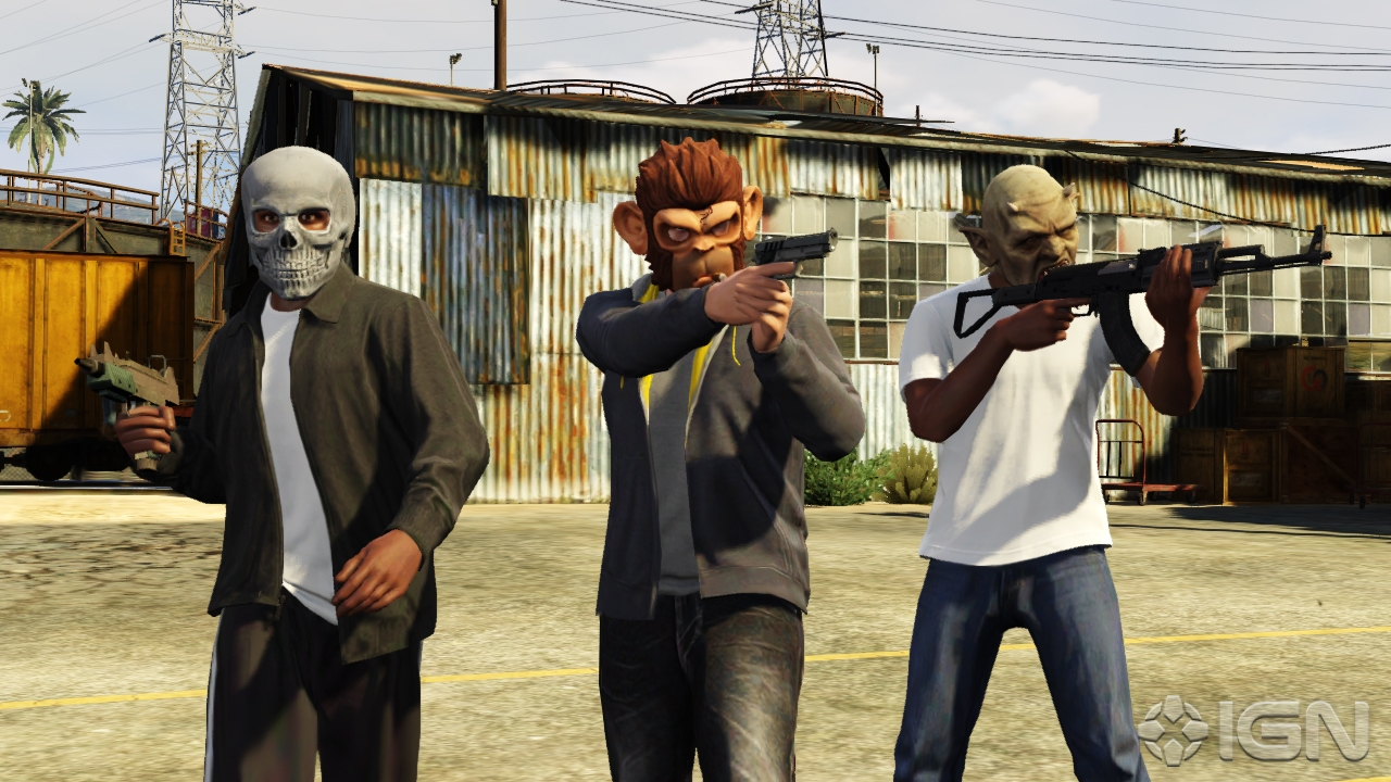 GTA V New GTA Online Details And Screenshots From IGN