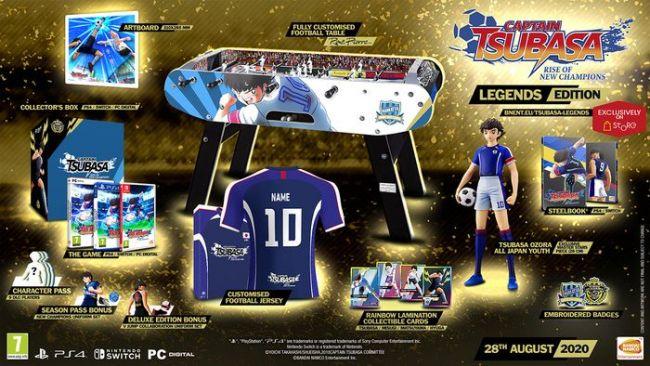 Captain Tsubasa game ps4 hay tháng 8
