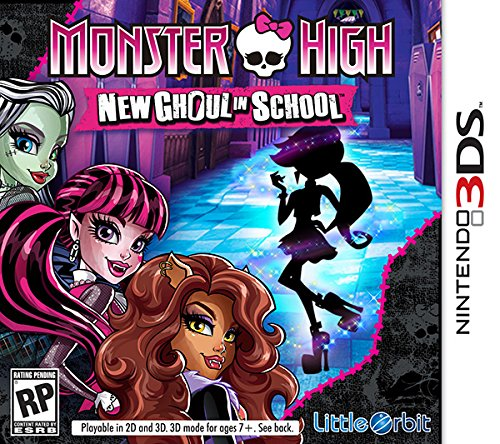 Monster High 13 Wishes Release Date Wii DS 3DS Wii U