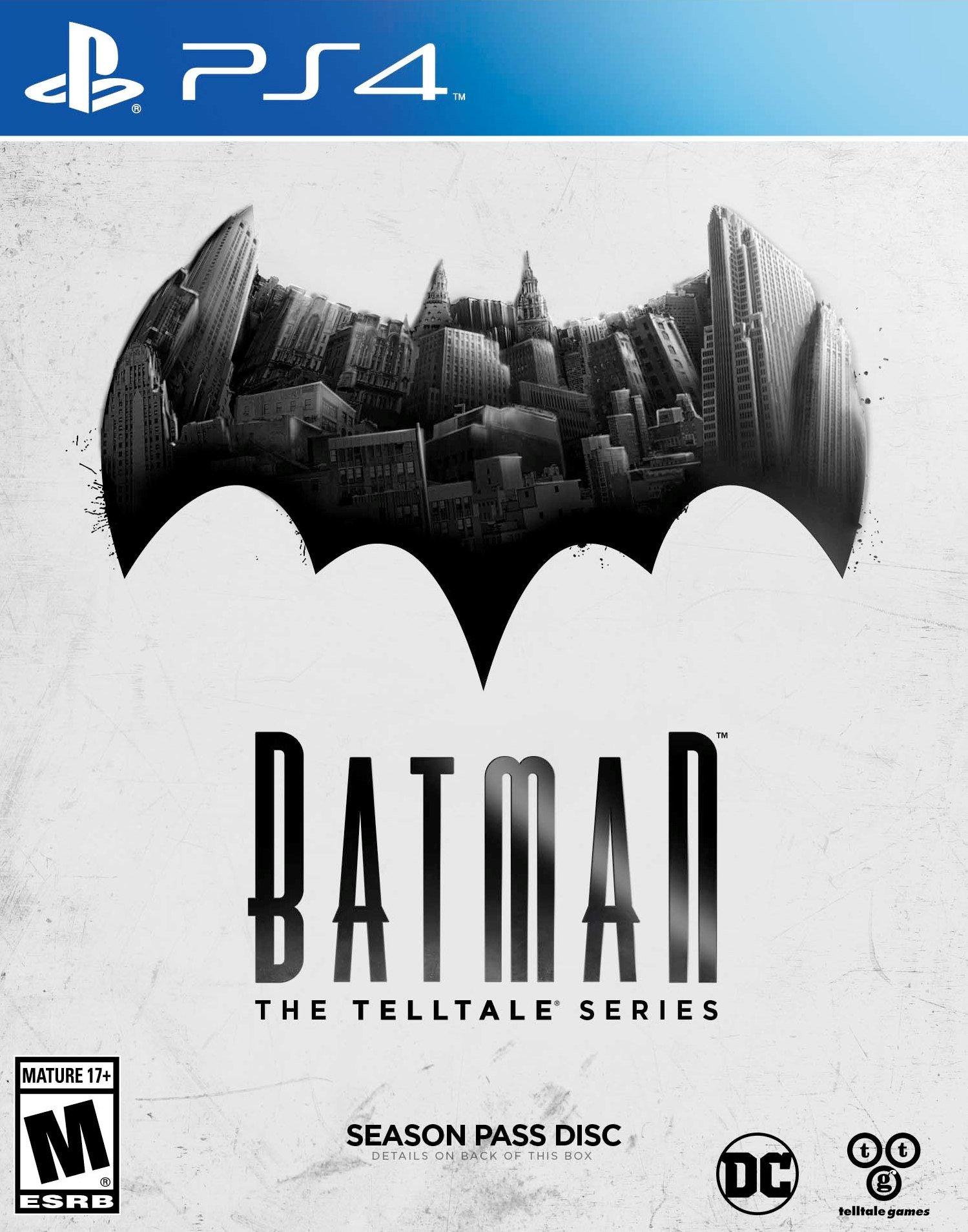 Batman The Telltale Series Release Date Xbox 360 PS3