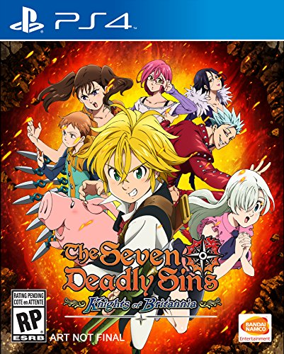 Th Seven Deadly Sins Knights Of Britannia Release Date PS4
