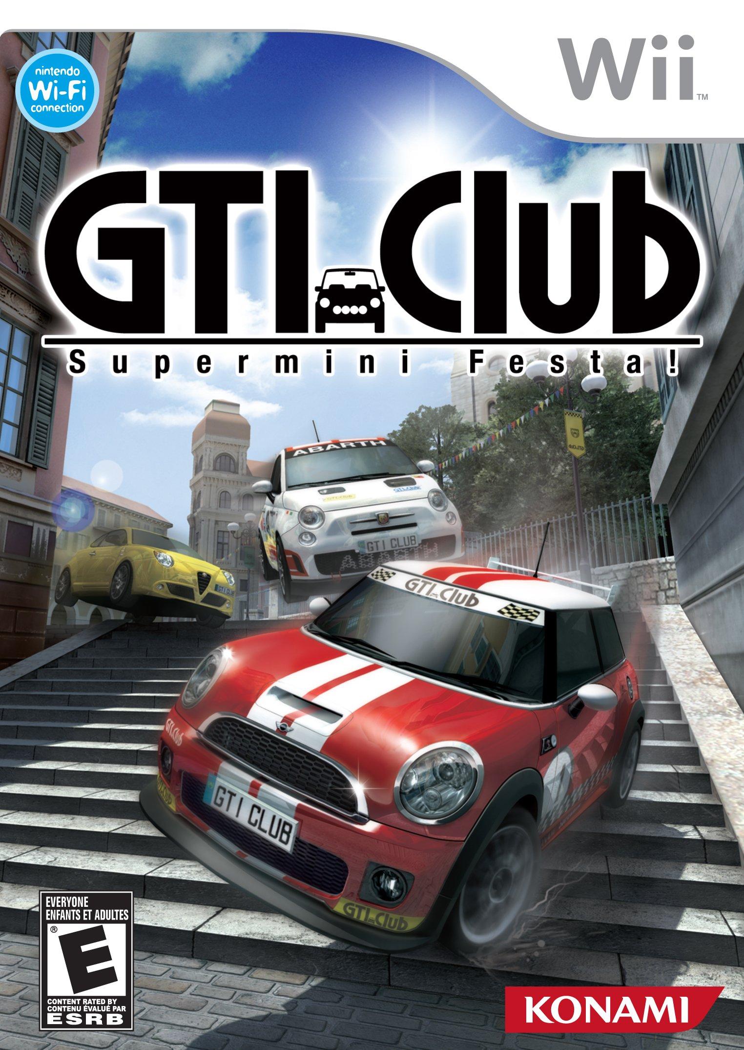 GTI Club Supermini Festa Release Date Wii