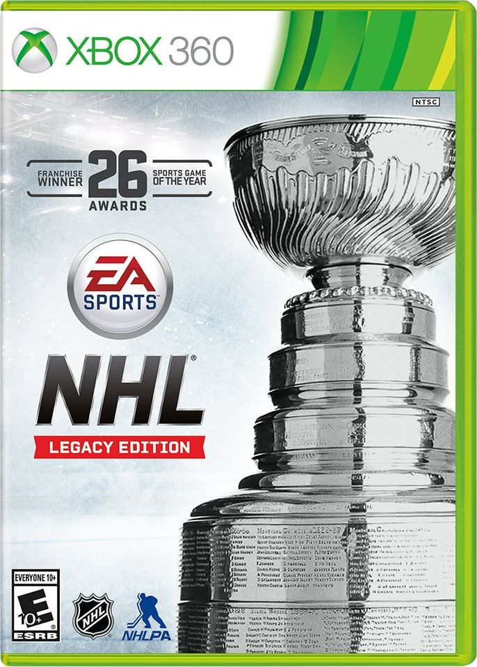 EA Sports NHL Legacy Edition Release Date Xbox 360 PS3