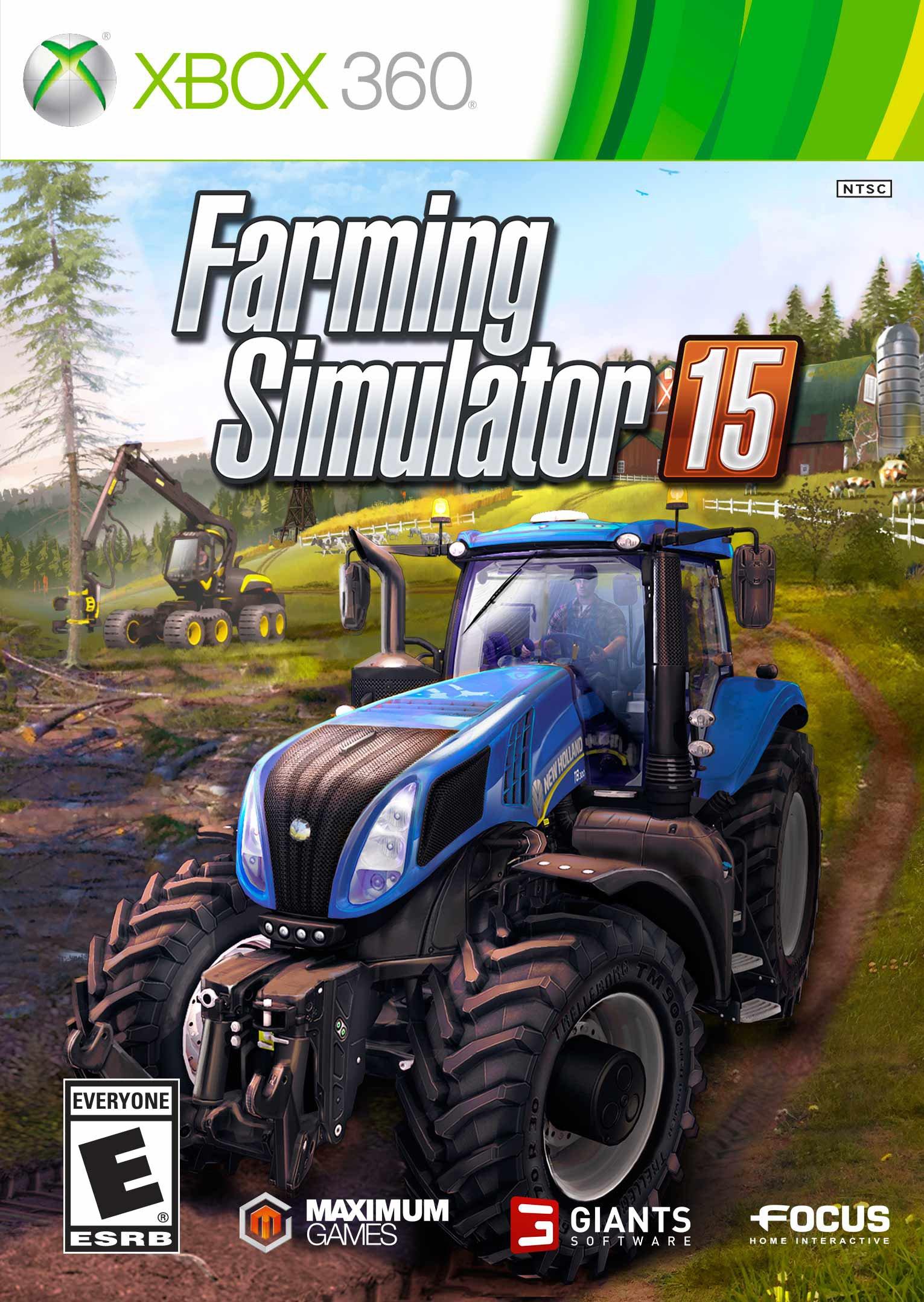 Farming Simulator 15 Release Date Xbox 360 PS3 Xbox One PS4