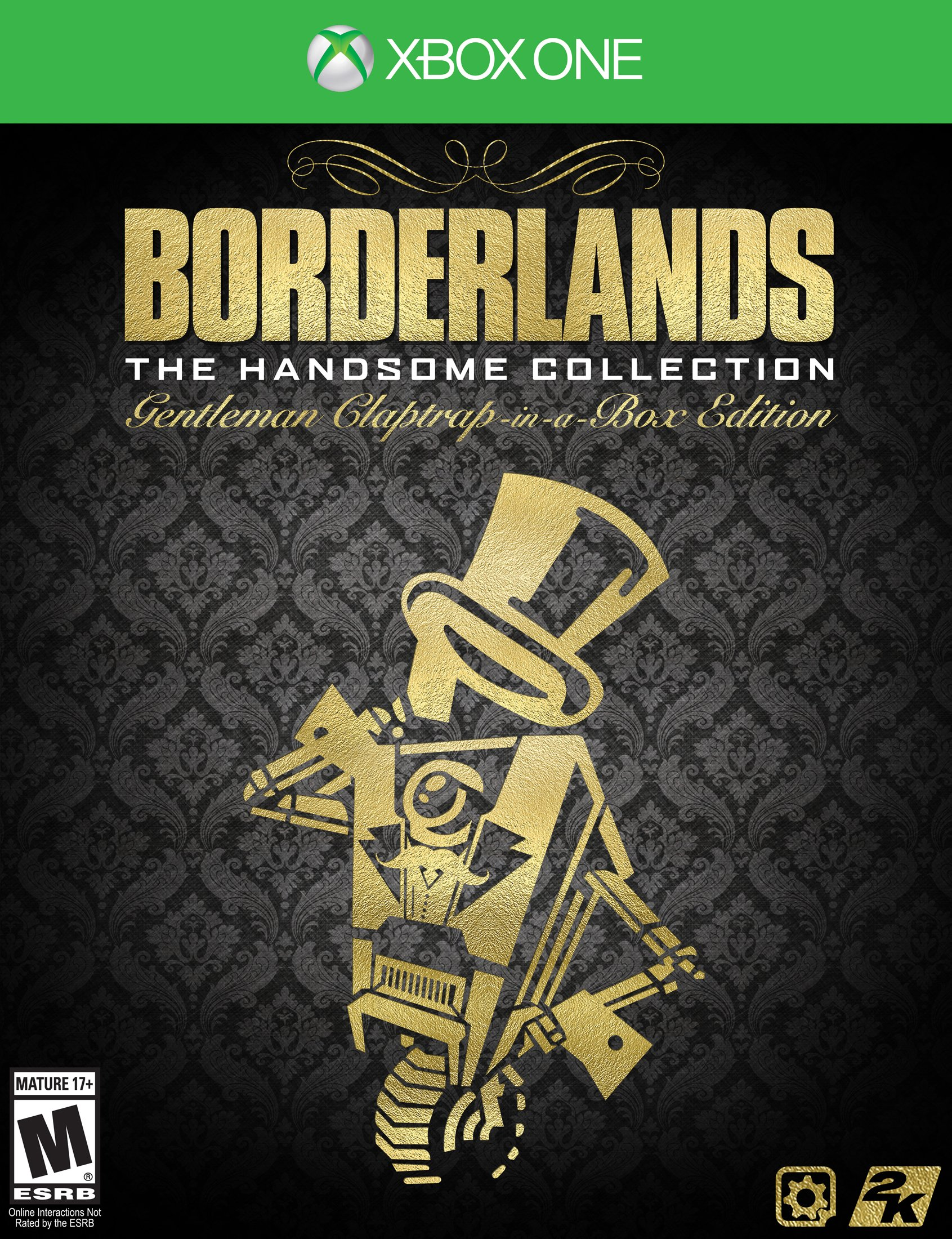 Borderlands The Handsome Collection Gentleman Claptrap