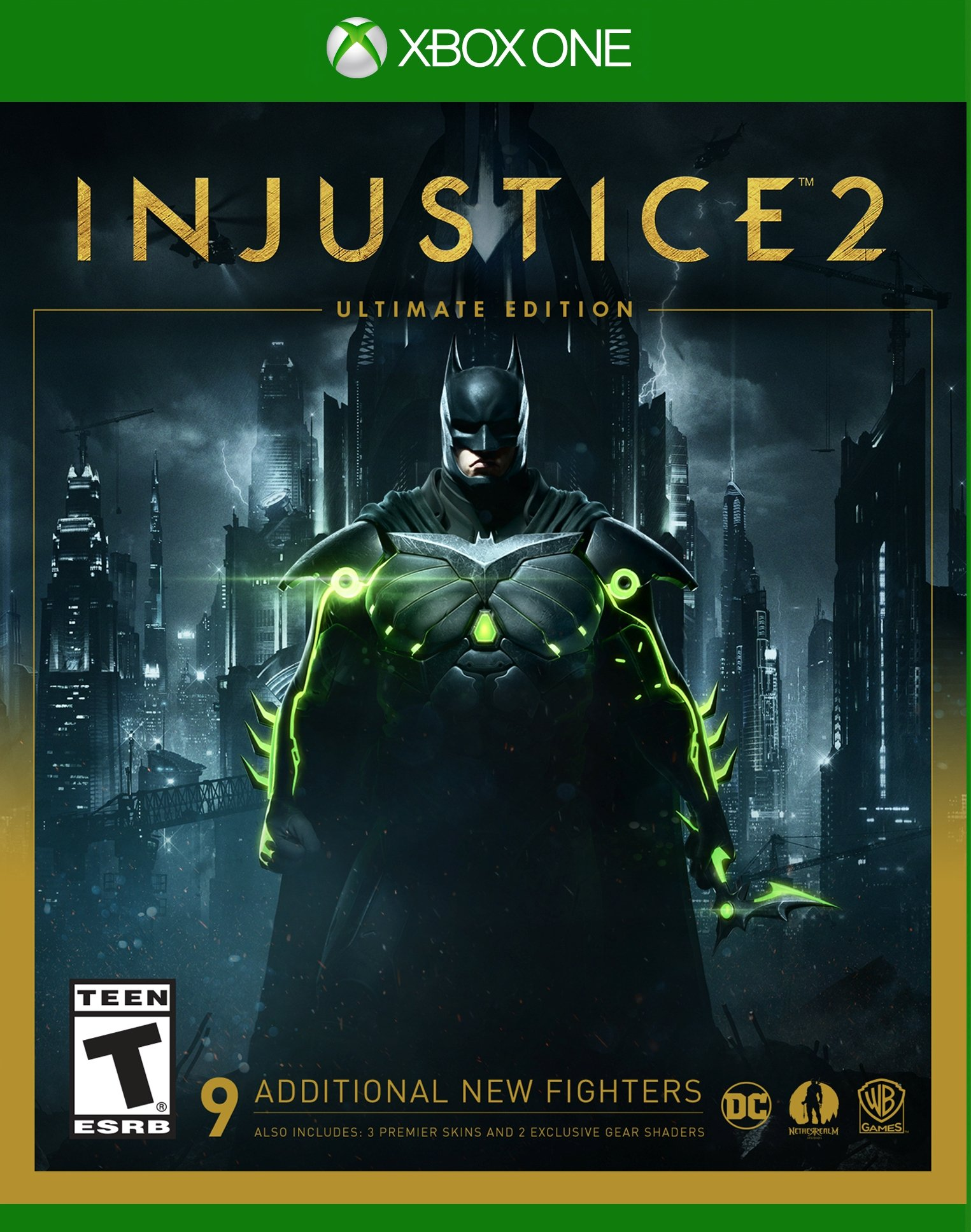 Injustice 2 Ultimate Edition Release Date Xbox One PS4