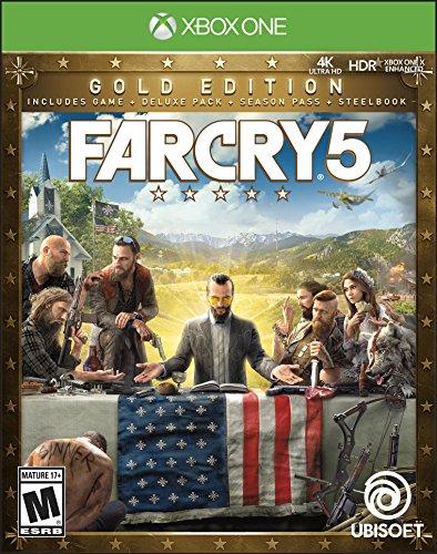 Far Cry 5 Steelbook Gold Edition